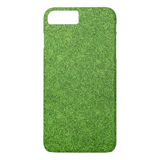 Belle texture d'herbe verte de terrain de golf coque iPhone 7 plus
