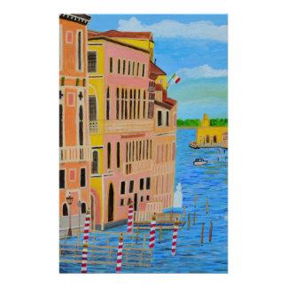 Belle Venise 2 Motifs Pour Papier À Lettre