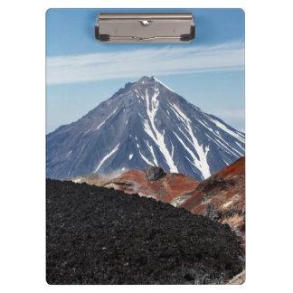 Belle vue de paysage de volcan