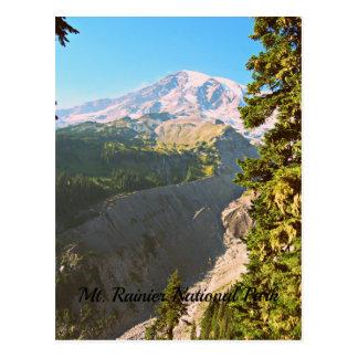 Belle vue d'un parc national plus pluvieux de Mt Cartes Postales