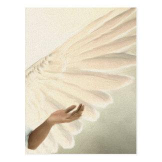 Belles ailes d'ange - soins et calme carte postale