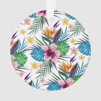 Belles aquarelles florales tropicales de peinture