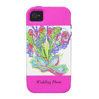 Belles conceptions de mariage iPhone 4/4S case