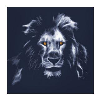 Belles couleurs du Roi Lion Cool Graphic Blue Toile