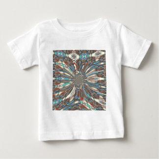 Belles couleurs fantastiques urbaines de t-shirt pour bébé
