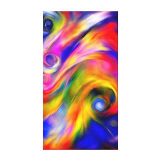 Belles couleurs toile