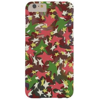 Belles étoiles de tourbillonnement colorées coque barely there iPhone 6 plus