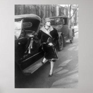 Belles femme et voitures, 1926 posters