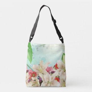 Belles fleurs assorties d'orchidées dans le sac