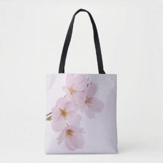 Belles fleurs de cerisier de ressort à Tokyo Sac