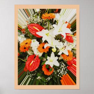 Belles fleurs poster