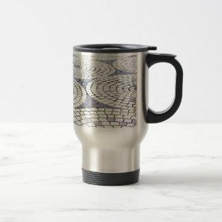 Belles tuiles de rue mug à café