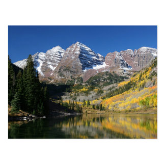 Bells marron en automne… carte postale