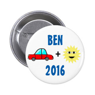 Ben Carson 2016 Pin's