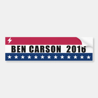 Ben Carson pour le président 2016 Autocollant Pour Voiture
