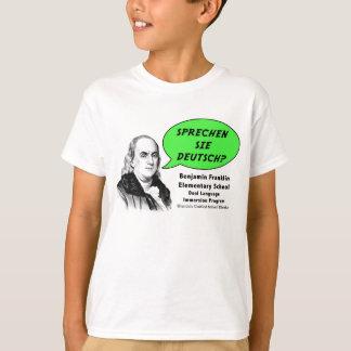 Ben Franklin parle allemand T-shirt