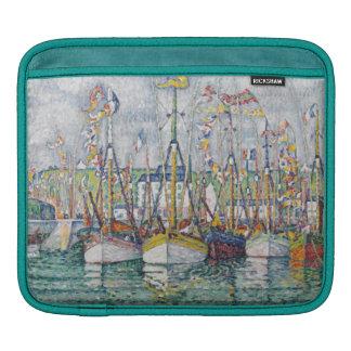 Bénédiction de la flotte de thon chez Groix, 1923 Poches iPad
