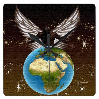 Bénédictions de l'Afrique Pendules Murales