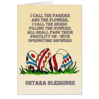 Bénédictions d'Ostara : Carte