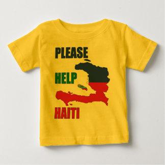 Bénéfice à - aidez svp le Haïti T-shirt Pour Bébé