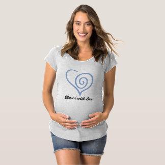 Béni avec le T-shirt de maternité d'amour
