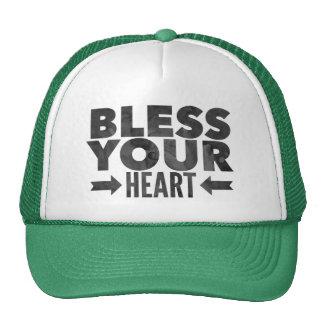 Bénissez votre coeur casquette trucker