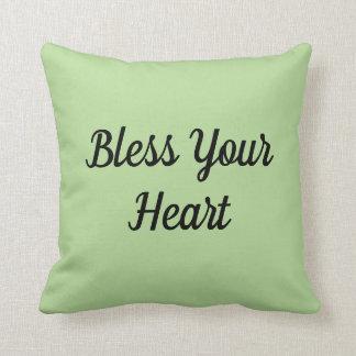 Bénissez votre coussin de coeur