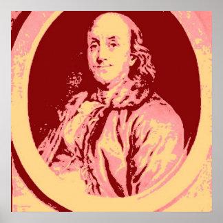 Benjamin Franklin Affiches
