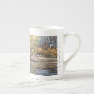 Berge d'Assiniboine - tasse de porcelaine tendre