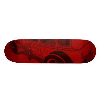 Berline 1929 de Murray Towne en rouge Skateboards
