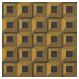 Bernaches dans le tissu d'or