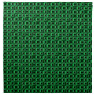Bernaches dans les serviettes turquoises de tissu