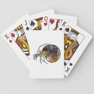 Bernard l'ermite cartes à jouer
