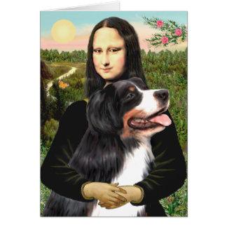 Bernese - Mona Lisa - customisés Cartes