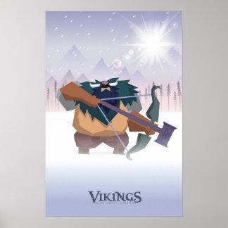 Berserker de Viking Poster