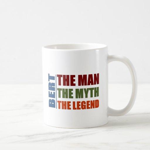 Bert l'homme, le mythe, la légende tasse