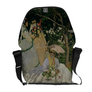 Besace Femmes de Claude Monet | dans le jardin