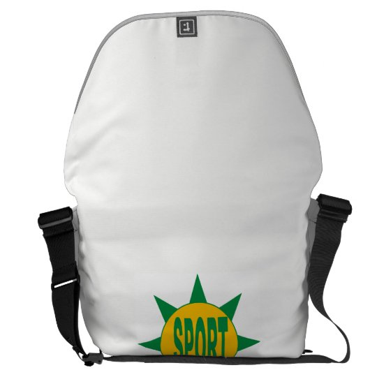 Besace Grand Messenger Bag  SPORT BRAZIL