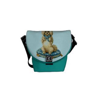 Besace Mini sac messenger à chien mignon vintage