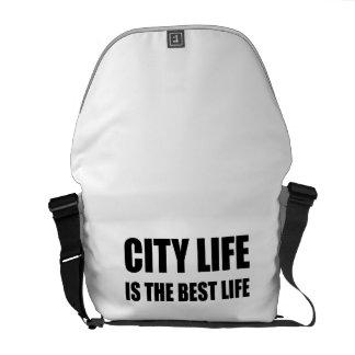 Besace Vie de la vie de ville la meilleure