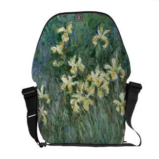Besaces Claude Monet | les iris jaunes