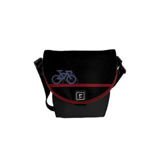 Besaces Vélo avec les lignes de drapeau