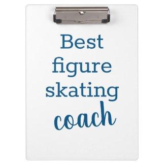 Best figure skating coach gift - clipboard