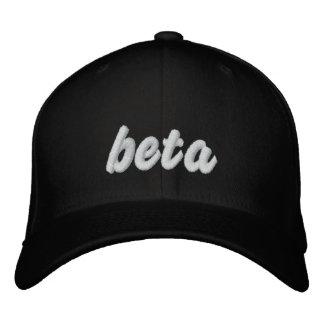Bêta casquette de noir casquette brodée
