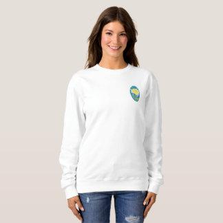Bêta sweatshirt de phi de sigma (ovale)