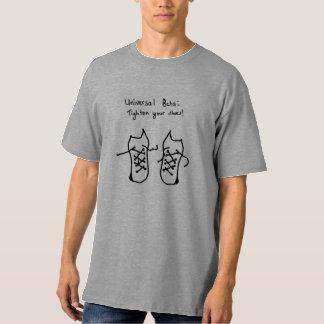 Bêta universel - serrez vos chaussures t-shirt