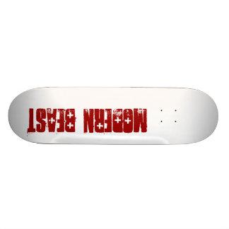 Bête moderne plateaux de skateboards customisés