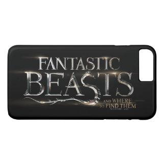 Bêtes fantastiques et où les trouver logo coque iPhone 7 plus