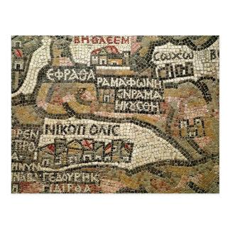 Bethlehem, détail d'une carte de Jéricho