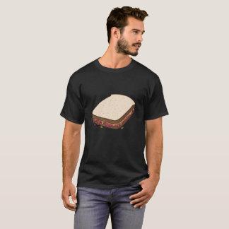 Beurre d'arachide et sandwich à gelée de confiture t-shirt